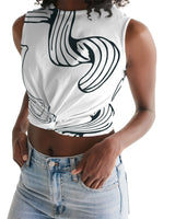 Use Your Noodle Women's Twist-Front Tank - huronshop1