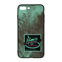 Coy Green Backed Print iPhone 8 Plus Case - huronshop1