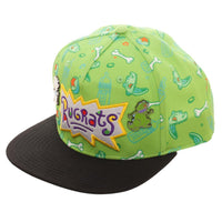 Nickelodeon Rugrats Reptar Hat Sublimated Snapback Rugrats Hat || 90s TV Cartoon Geek Gift! || - huronshop1