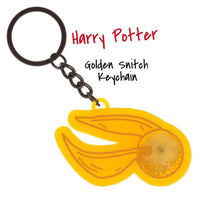 Golden Snitch Keychain Harry Potter || Accessories LED Keychain || HP Movie Gift - huronshop1