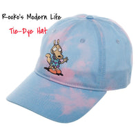 Rocko's Modern Life Hat || Tie Dye Hat || Great Retro Gift for Men - huronshop1