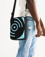 Light Blue Vinyl Icon - Messenger Pouch