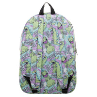 Rugrats Reptar Backpack 90s Bags - Rugrats Backpack 90s Fashion SUblimation Backpack - huronshop1
