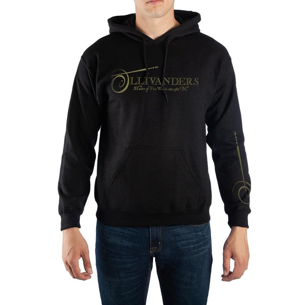 Harry Potter Ollivanders Pullover Hooded Sweatshirt - huronshop1
