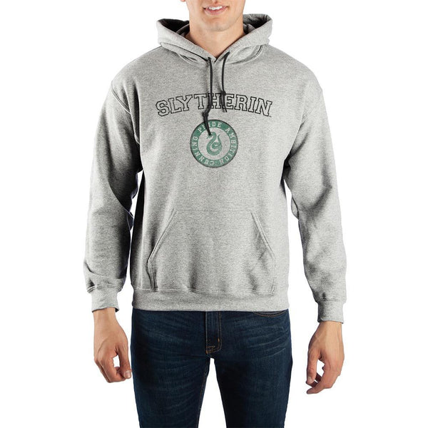 Harry Potter Slytherin Values Pullover Hooded Sweatshirt - huronshop1