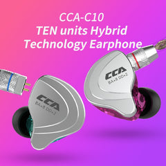 CCA C10 High-End Audio In-Ear Sports Headset || Earphone Earbud
