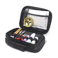 Leather 2-Deck Pro Black Vape Case || Carry Case for the Expert to Pro Vape with all the DIY Tools included! || - huronshop1