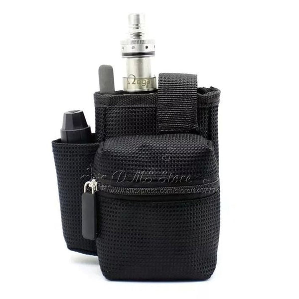 E-XY Black Vape Case || Store your e-cig mods in style on your belt! - huronshop1