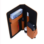HOT! FERSHA Leather IQOS 2.4 Vape Carry CAse || E-Cig Fashion Bag / Organizer for Him or Her! || - huronshop1