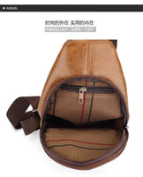 Men's Jeep Buluo Leather Shoulder Bag || Messenger or Travel Bag for Men || KSL548M - huronshop1