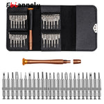 Leather Case Executive 25pc Phone Repair Kit || Multi Tool Set for Iphone and other Electronic Repairs || - huronshop1