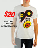 "Nickelodeon ""90s Are All That"" T-Shirt - huronshop1"