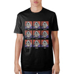 Teenage Mutant Ninja Turtles Shredder Face Black T-Shirt || 80s 90s Gamer Gift! || - huronshop1