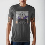 Teenage Mutant Ninja Turtles Shredder Mug Shot T-Shirt || 80s 90s TMNT Fan Tee || - huronshop1