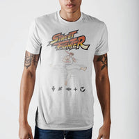 Street Fighter Ryu Kick T-Shirt || 80s 90s Mens Gamer Tee || Great Geek Guy Gift || - huronshop1