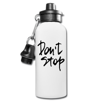 "Quote ""Don't Stop"" Water Bottle - huronshop1"