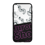 Use Your Noodle iPhone X Case || Branded HuronShop with Purple Logo || - huronshop1