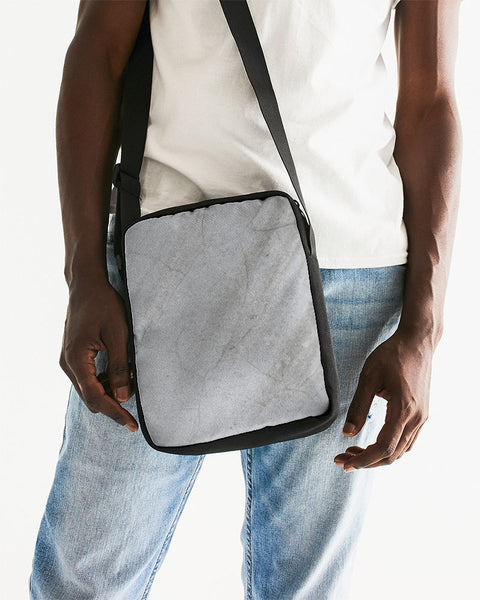 Space Greys With Texture Messenger Pouch - huronshop1