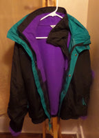 "80s Columbia ""Bugaboo"" Ski Winter Jacket - Mens Large - huronshop1"