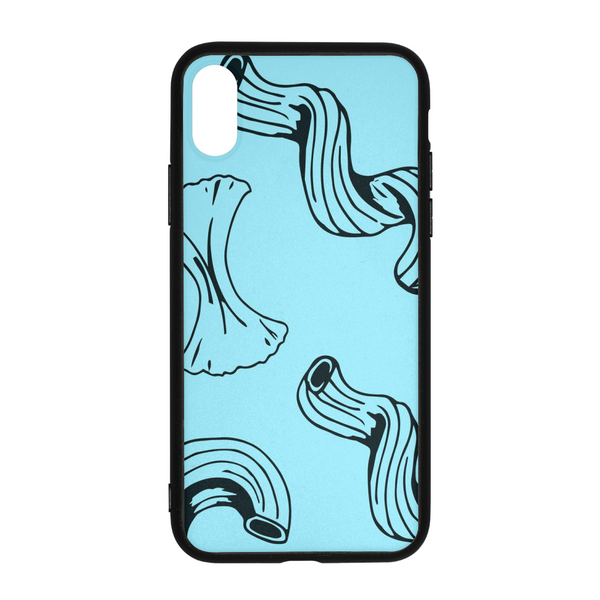 Bold Brain - Bright Noodle iPhone X Case - huronshop1