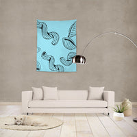 "Bold Brain - Bright Noodle Tapestry 60""x80"" - huronshop1"