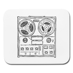 DJ Horizontal Mousepad Black and White || Great Gift for the Music or Computer/Tech Lover! || - huronshop1