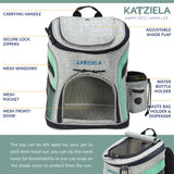 Katziela  Airline Approved Backpack for Pets - huronshop1