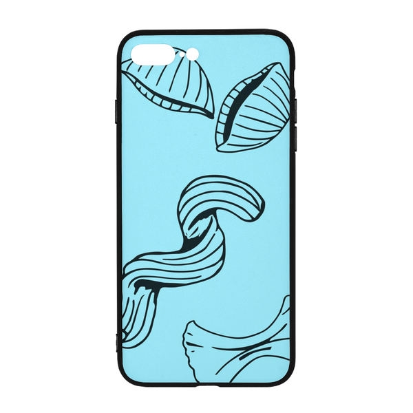 Bold Brain - Bright Noodle iPhone 8 Plus Case - huronshop1