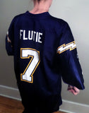 Flute Football Vintage Jersey Doug Flute #7 || Awesome Vintage Football Find! - huronshop1