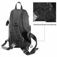 Stylish! Waterproof SLR Camera Carry Sling Shoulder Bag || Great gift for Dad or the Avid Photographer || Mens Womens DSLR Lens Travel Bag - huronshop1