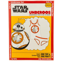 Star Wars Bb8 Underoos || Cute Womens Droid - Cosplay PJs || - huronshop1