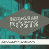 Custom ADOBE Instagram Graphic (5 each) || Free Animated Promo Clip || Included with Purchase - huronshop1