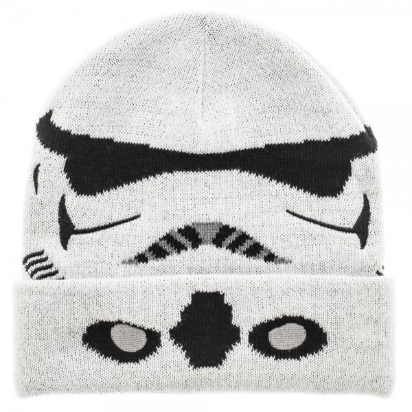 Star Wars Storm Trooper Cuff Beanie || Star Wars Winter Hat - Great Gift! || - huronshop1