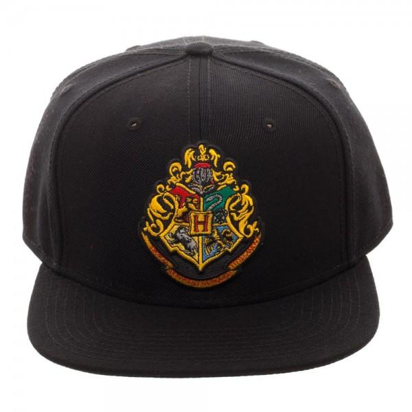 Harry Potter Hogwarts Youth Snapback || Black Front Embroidery Art || - huronshop1