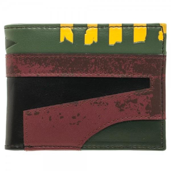 Star Wars Boba Fett Helmet Bi-Fold Wallet || Great Mens Collectors Gift! || - huronshop1