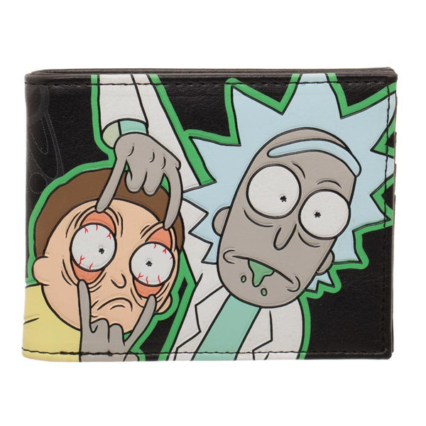 Rick & Morty Glow In The Dark Wallet - huronshop1