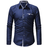 Mens Dotted Button Up || by Northwest Apparel || - huronshop1