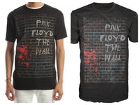 Pink Floyd The Wall Men's Black T-Shirt Tee Shirt || 80s 90s Rock and Roll Music Tee || - huronshop1