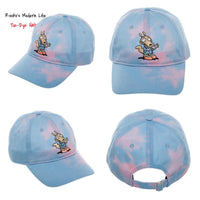Rocko's Modern Life Hat || Tie Dye Hat || Great Retro Gift for Men! || 80s 90s TV Cartoon || - huronshop1
