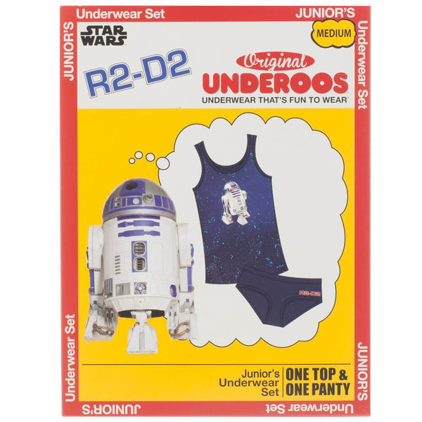 Star Wars R2D2 Underoos || Great PJ set or Cosplay gift for Her || - huronshop1