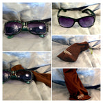 Green Designers Women's Sunglasses with Soft-case! || Gift for Women - Affordable!! || - huronshop1