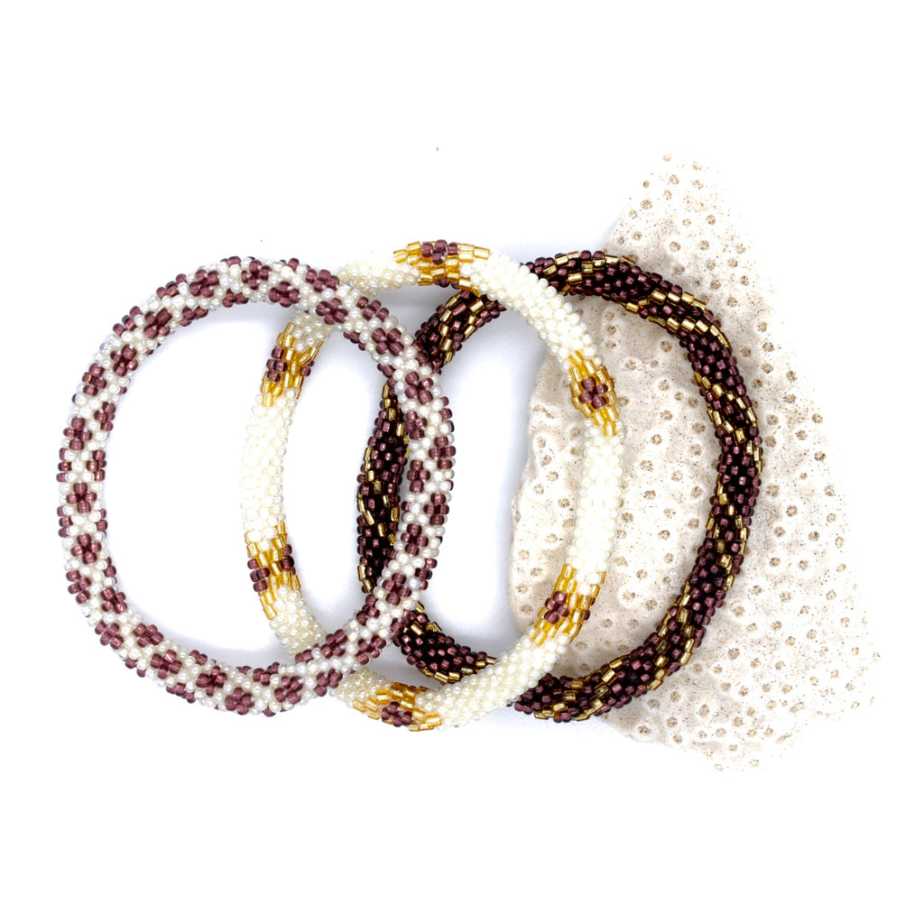 Nepal Armband 3/SET - Sparkling Vineyard