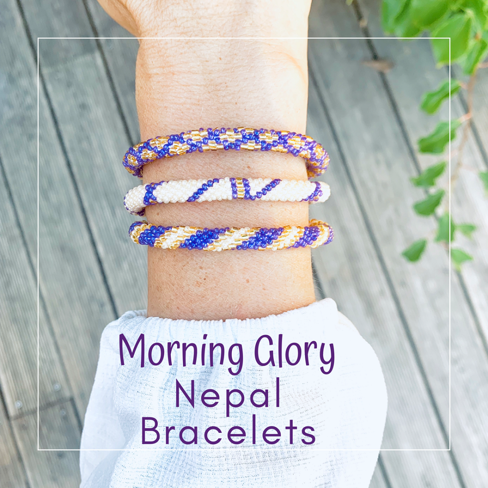 Nepal Armband 3/SET - Morning Glory