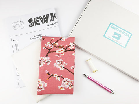Sewjo Box Eco-Warrior Knicker pattern kit eco friendly sewing monthly subscription
