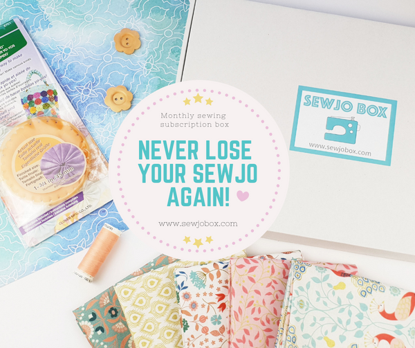 Sewing subscription craft box