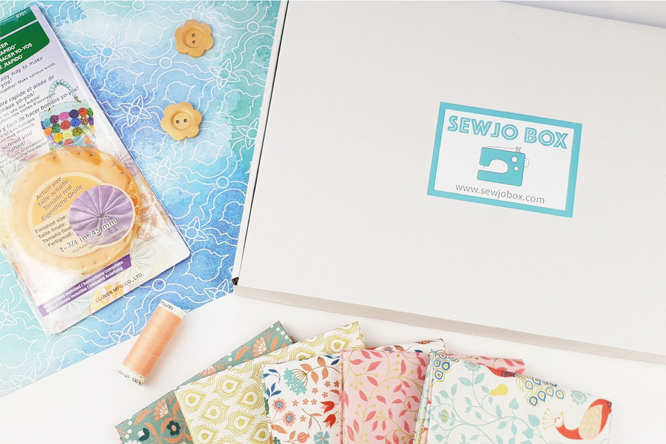 Sewing subscription box