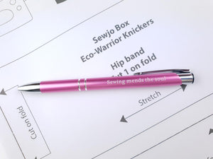 Eco-warrior knicker kit & pen
