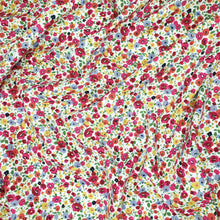 Load image into Gallery viewer, Floral cotton poplin fabric