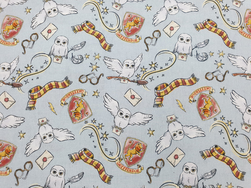 Harry Potter Magical Gryffindor 100% Cotton - Per metre