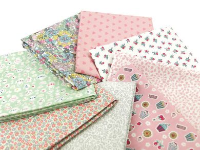 Special edition - Liberty tea for two fat quarter bundle - Sewjo Box